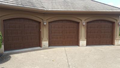 3 car garage door install