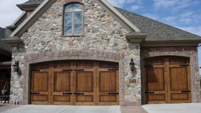 residential wood garage doors