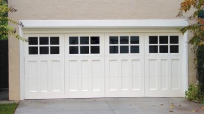 shaker style garage door