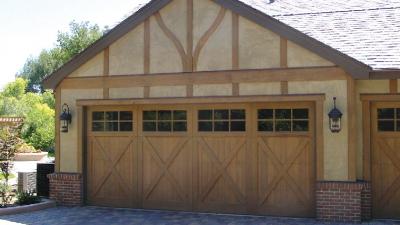 glass window garage door